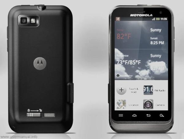 motorola defy xt xt556 user manual for us cellular usermanual info rh usermanual info Motorola Phones Motorola Phones