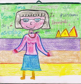 Primi giorni di scuola in classe quinta
