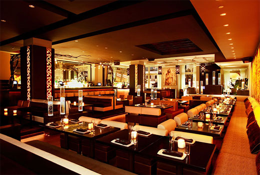 Restaurant Interior Contemporary : Amazing restaurant bar designs with beautiful layout