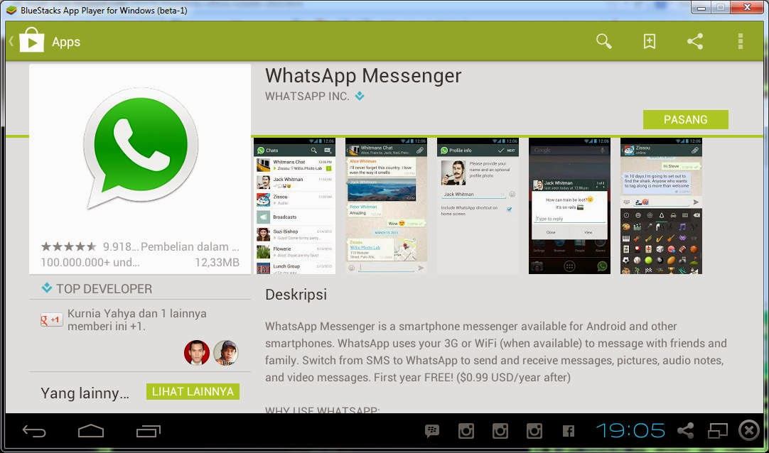 Tutorial Download & Install Aplikasi WhatsApp di Komputer Windows 7/8/XP