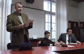 Aspecte din timpul şedinţei CNHGS, 13.III.2012...