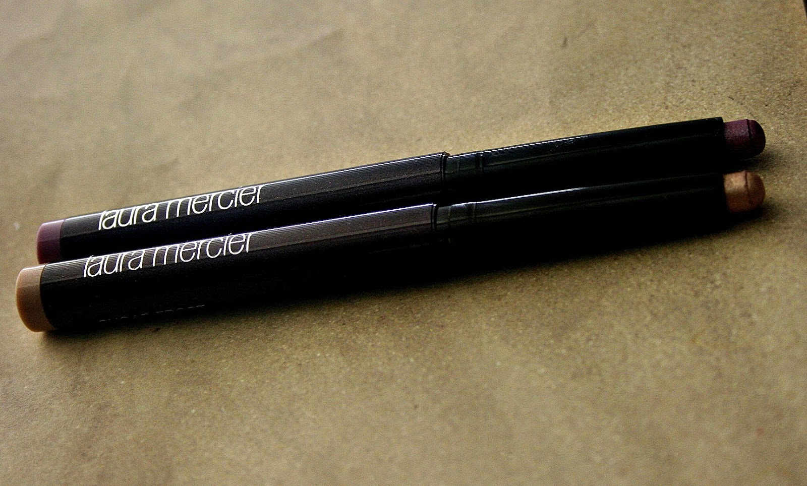 Laura Mercier Caviar Stick Eye Colors in Orchid & Sugar Frost Review, Photos & Swatches