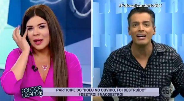 """Leo Dias coloca panos quentes após barraco no """"Fofocalizando"""""""