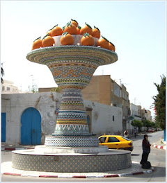 NABEUL, les oranges et le methred
