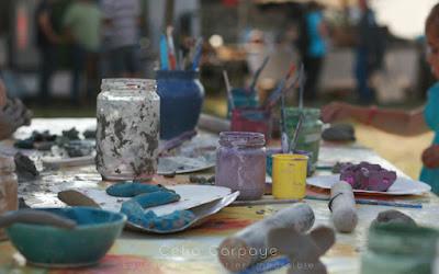 poterie extérieur enfants