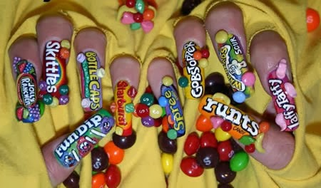 funny nail art designs - One Hundred Styles: Funny Nail Art Designs