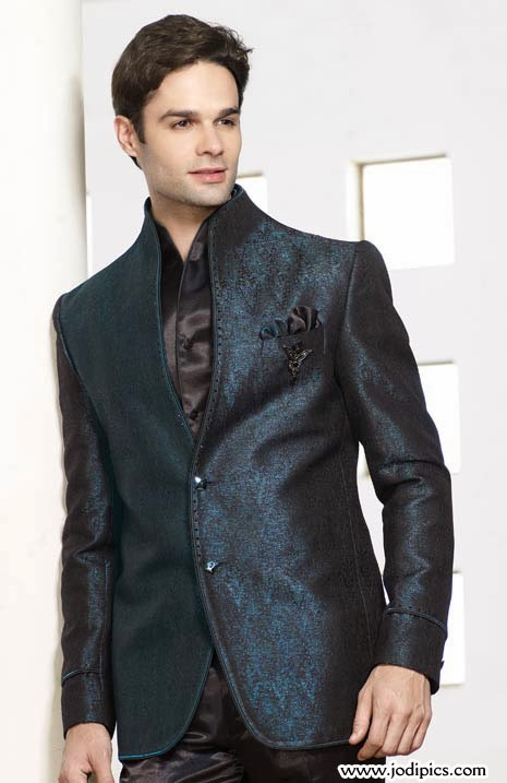 Latest Groom Pant Coat Style 2014 Dulha Walima Wedding