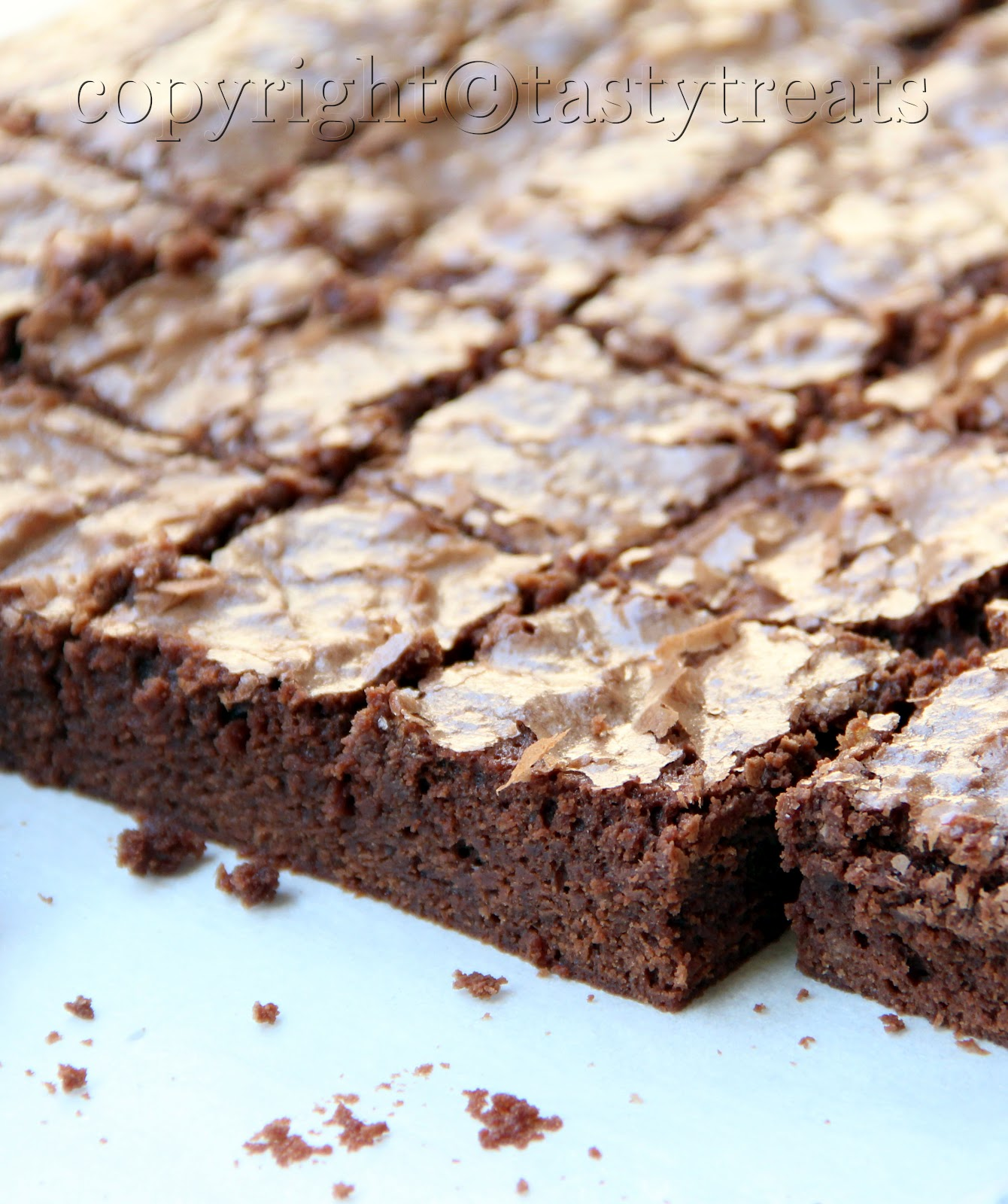Tasty Treats: Chocolate Fudge Brownies