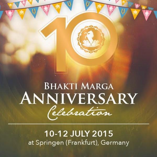 Comemoracíon 10 Años Bhakti Marga