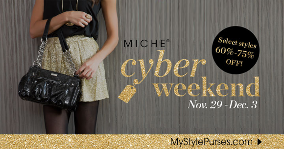 Shop Miche Cyber Weekend Event at MyStylePurses.com