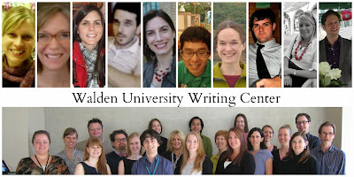 Walden Writing Center Staff