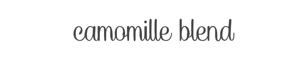 Camomille Blend
