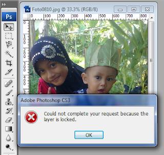 Cara merubah background menjadi layer pada psd