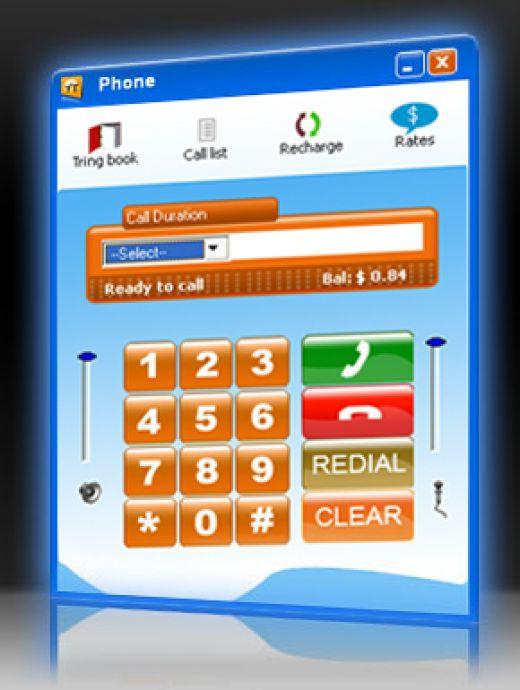 Free call to mobile via pc