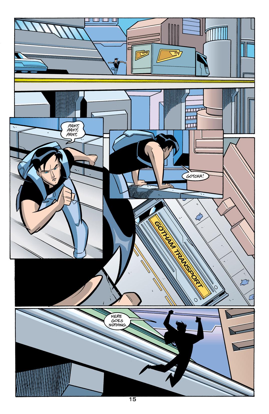 Batman Beyond [II] Issue #19 #19 - English 16