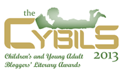 Jane's a 2013 Cybils Finalist Judge