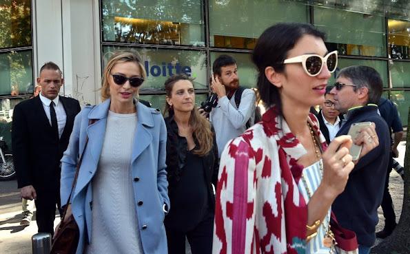 Beatrice Borromeo at the Emporio Armani - Giamba show - Milan Fashion Week Spring/Summer 2016