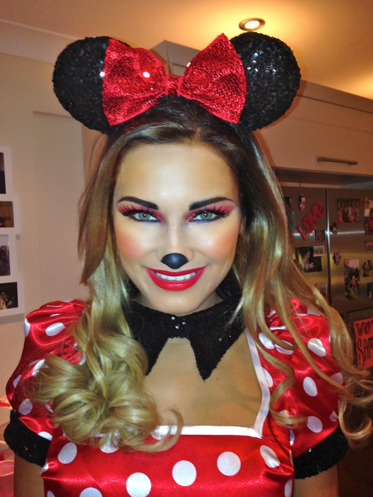 Makeup by ashley january 2014 - Minni et mickey ...