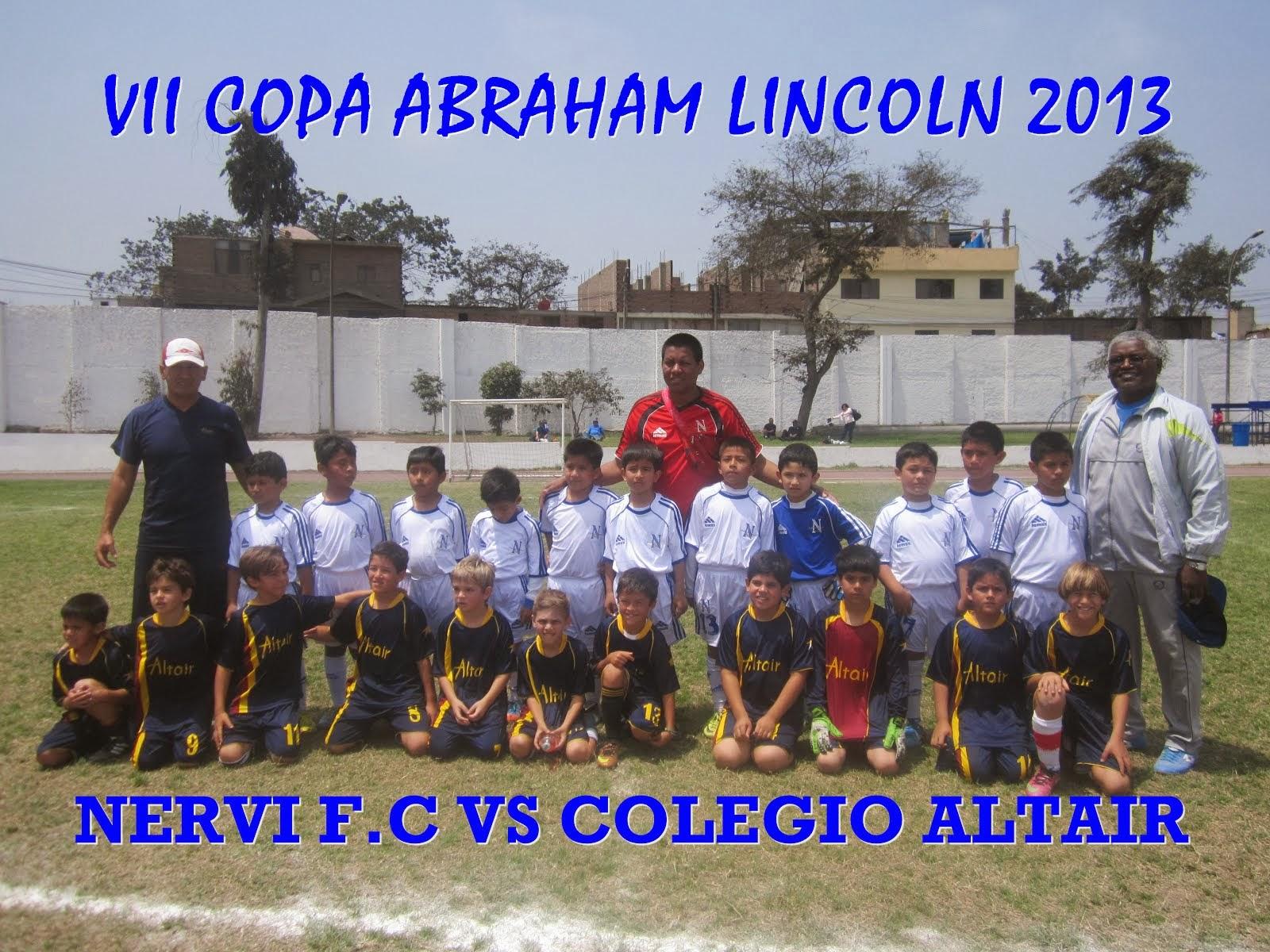 NERVI F.C VS COLEGIO ALTAIR