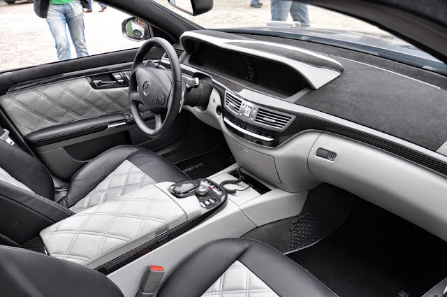 mercedes benz s 221 interior