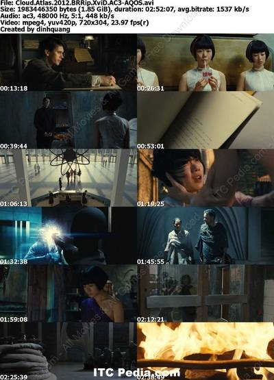 Cloud Atlas (2012) BRRip XviD AC3 - AQOS