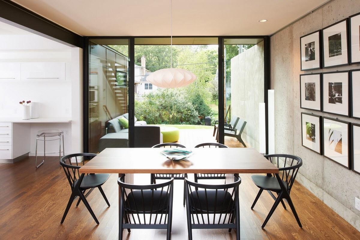 Ruang Makan Modern Dengan Dinding Kaca 6