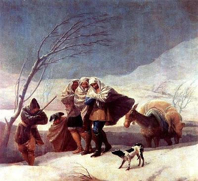 Hiver - Francisco de Goya y Lucientes - 1787