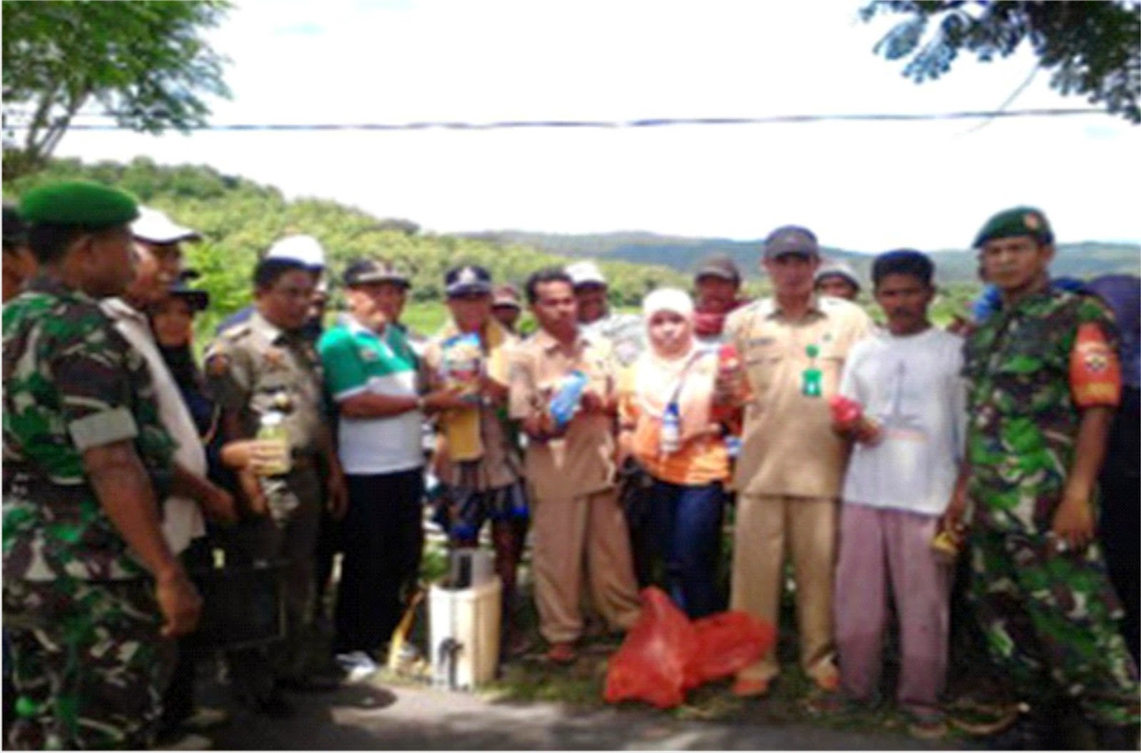 Hama Blast Mengancam, UPTD Pertanian Madapangga Respon Cepat