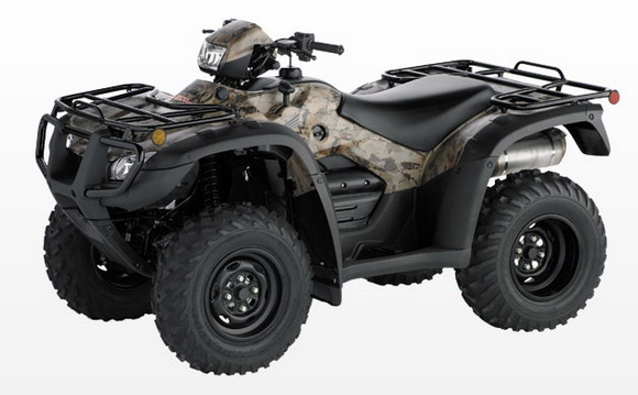 2011 Honda TRX500PG CTE Canadian Trail Edition Rubicon