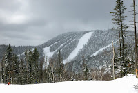 Gore's snowy summit on March 23, 2013.  The Saratoga Skier and Hiker, first-hand accounts of adventures in the Adirondacks and beyond, and Gore Mountain ski blog.