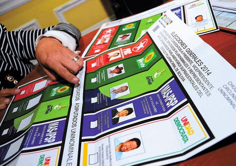 Elecciones subancionales Bolivia 2015