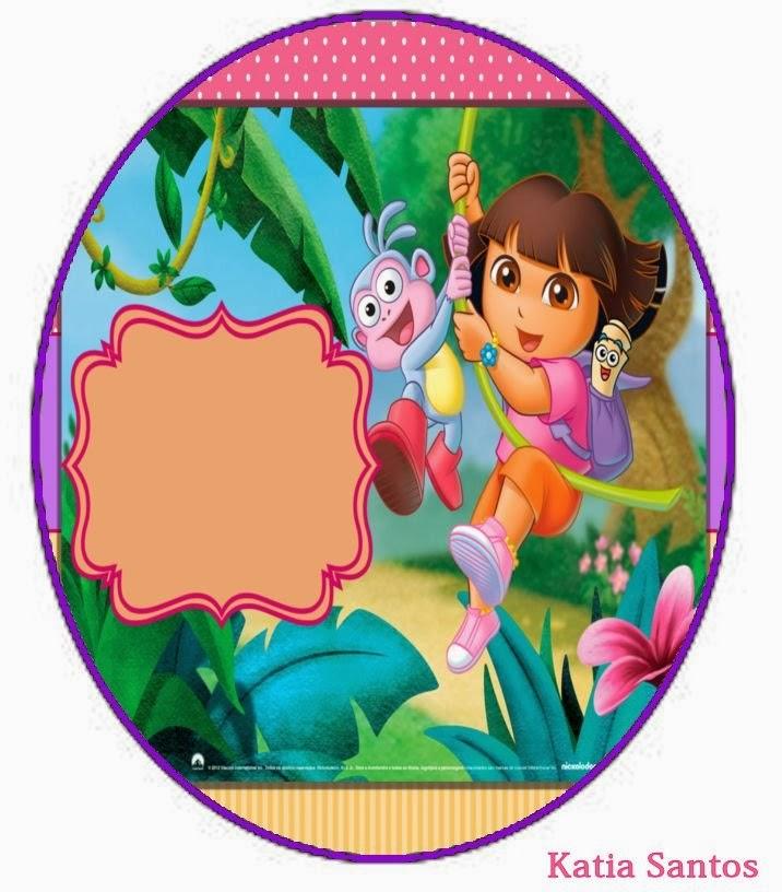 Dora Cake Template