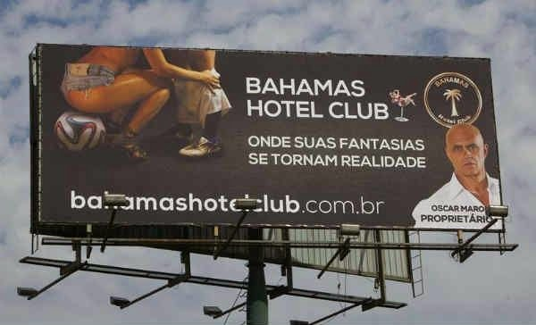 En Brasil siguen luchando contra la publicidad sexual de cara al Mundial