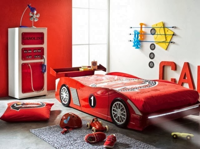 Dormitorios con tem tica de carros decoraci n de - Dormitorios de cars ...