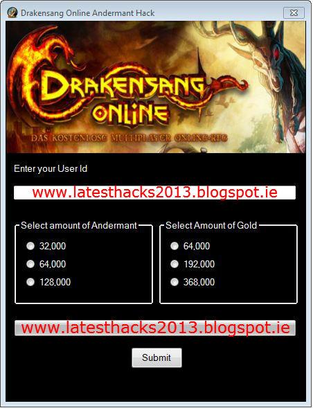 drakensang online bonus code generator