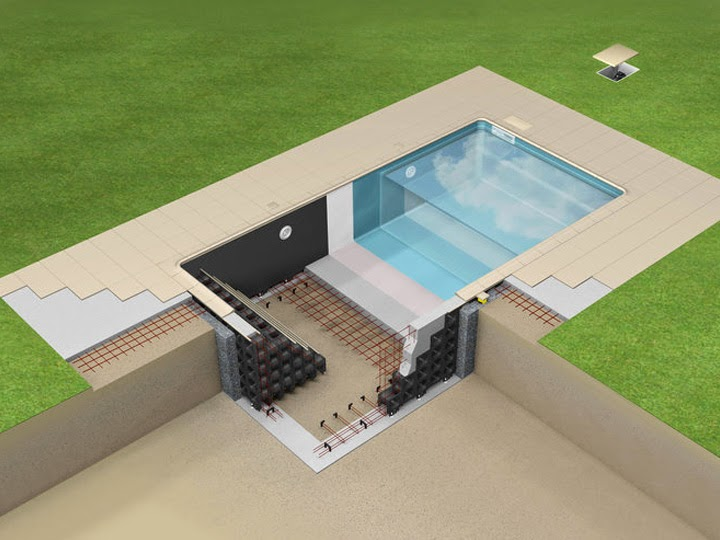 Piscine perpignan 66 aquazur piscine installation for Plan filtration piscine
