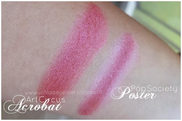 Art Circus - Neve Cosmetics Acrobat - Poster Swatch