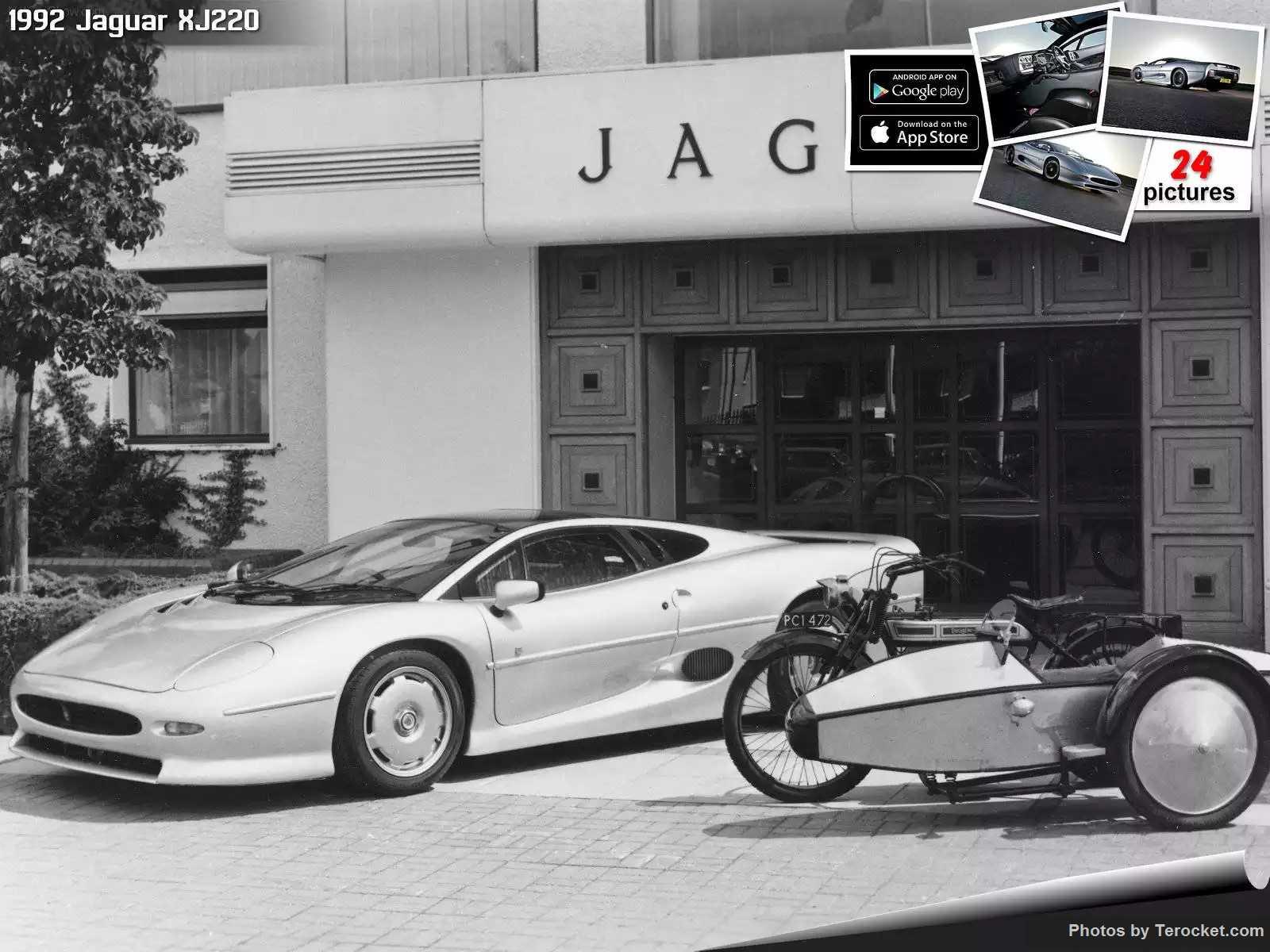 Hình ảnh xe ô tô Jaguar XJ220 1992 & nội ngoại thất