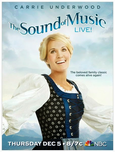 Carrie Underwood as Maria in Sound of Music