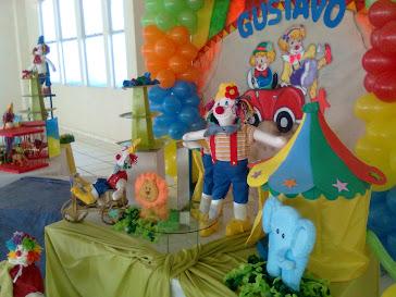 festa circo (palhaços)