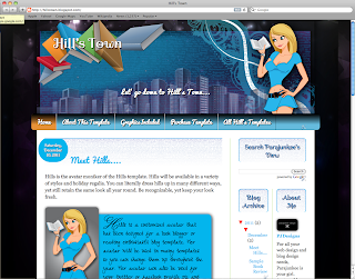 Cheap, blog design custom for book bloggers