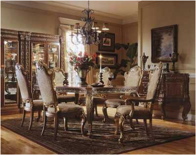 Traditional dining room design ideas simple home for Traditional great room designs