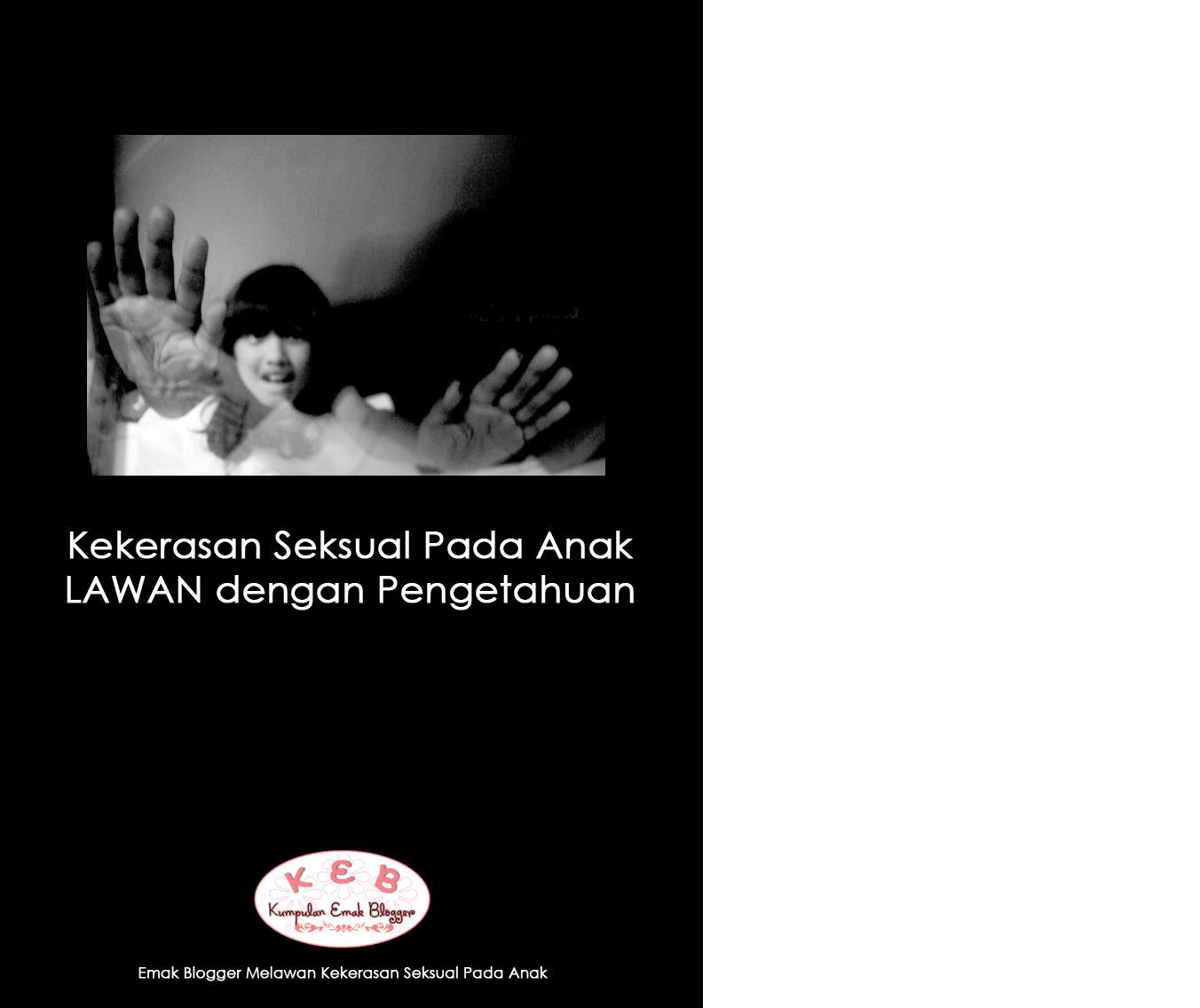 Lawan Kekerasan Seksual pada Anak