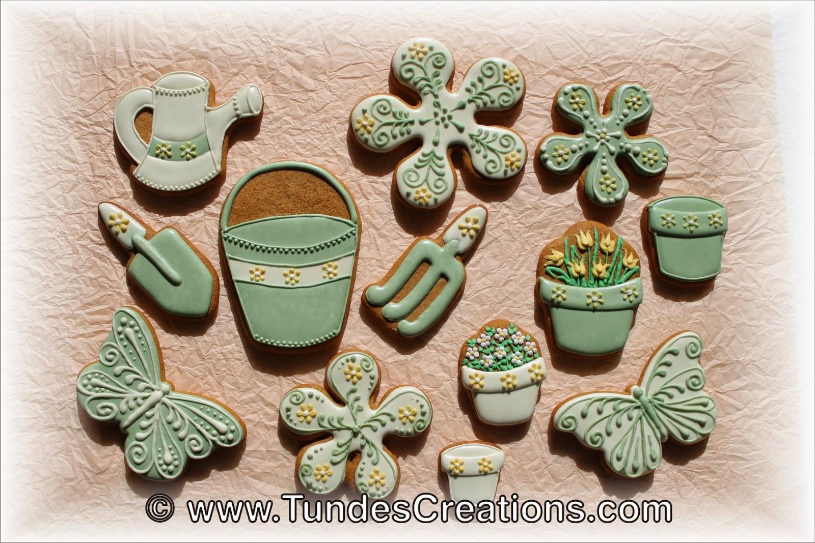 Garden cookies by Tunde Dugantsi