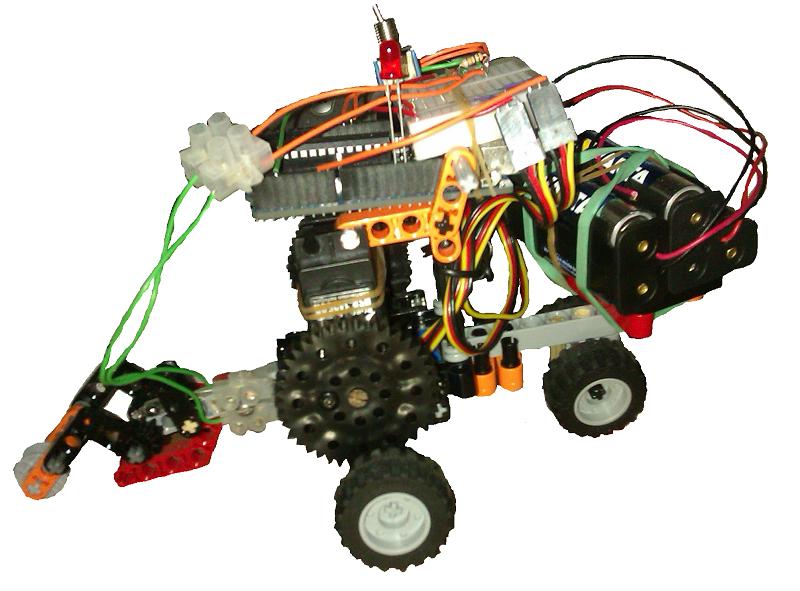 Robot arduino minibloq lego technic