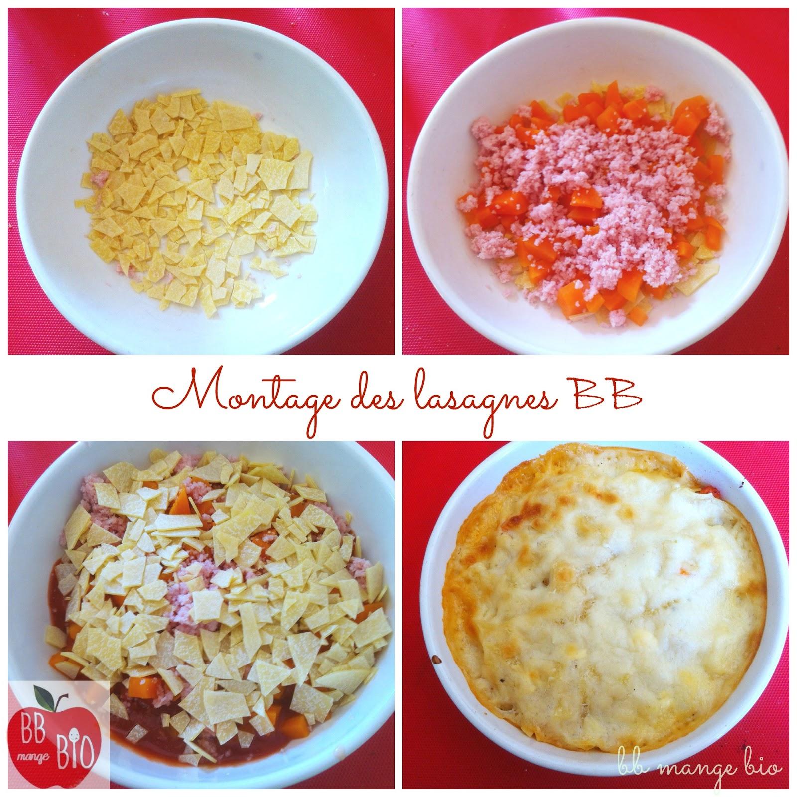 comment préparer étape par étape les premières lasagnes de bébé à partir de 1 an