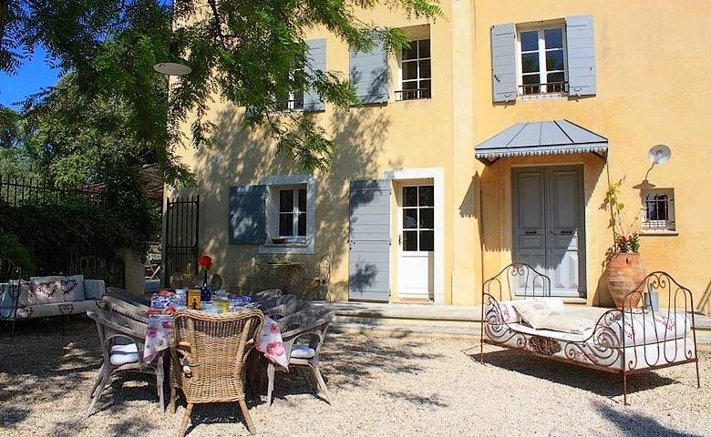 casa de vacaciones en la provenza francesa