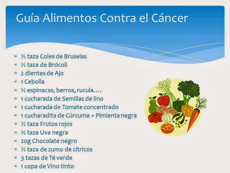 Mis recetas antic ncer gu a de alimentos contra el c ncer a consumir a diario - Alimentos que evitan el cancer ...