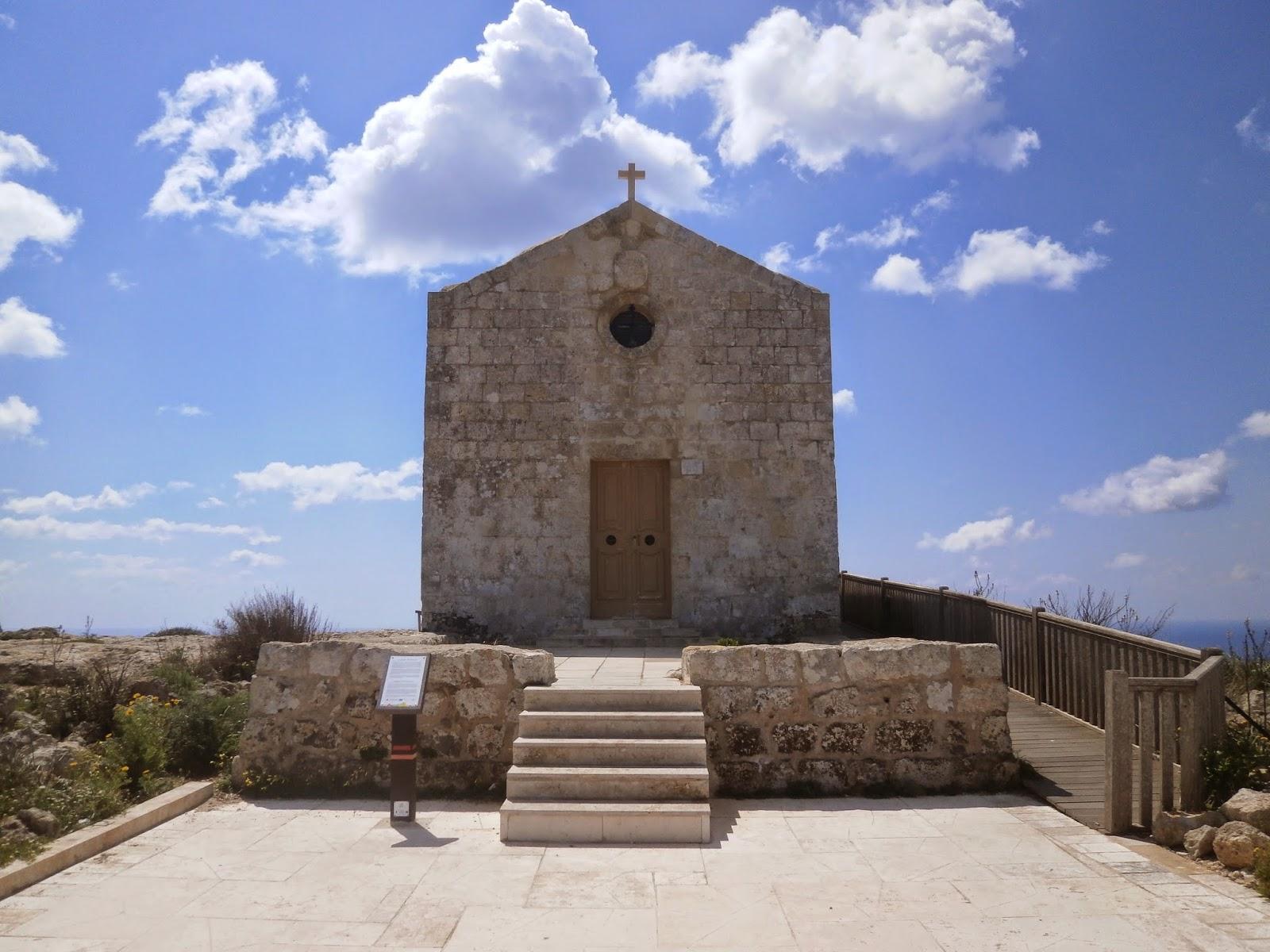 Kapliczka Marii Magdaleny, Klify Dingli, Malta