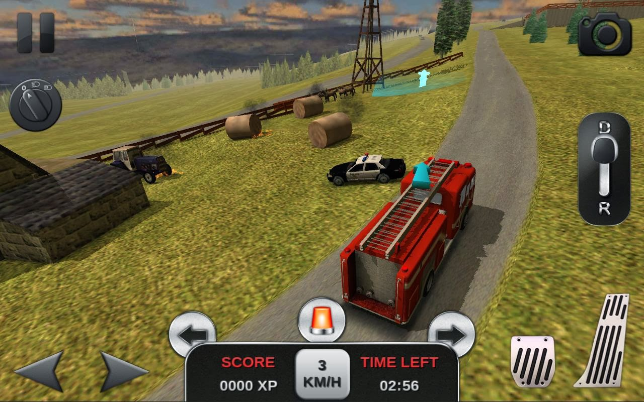 Firefighter Simulator 3D full apk
